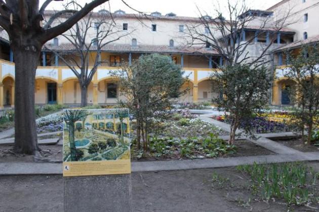 アルルの病院の庭