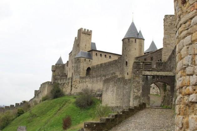 カルカッソンヌの古城群
