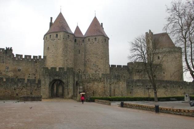カルカッソンヌの古城
