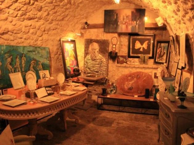 サン・ポール・ド・ヴァンスの画廊