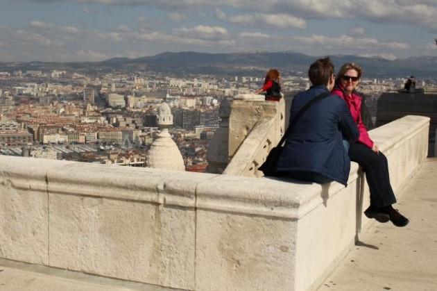 マルセーユの景色