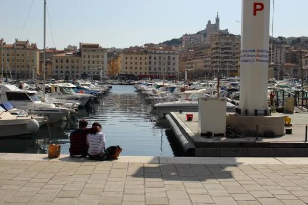 マルセーユの港
