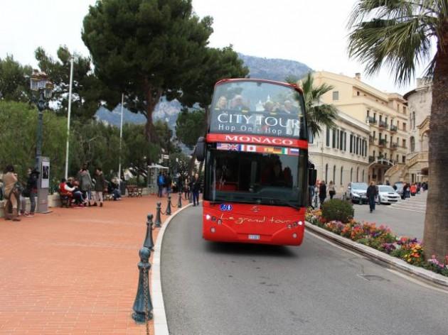 モナコの街並み