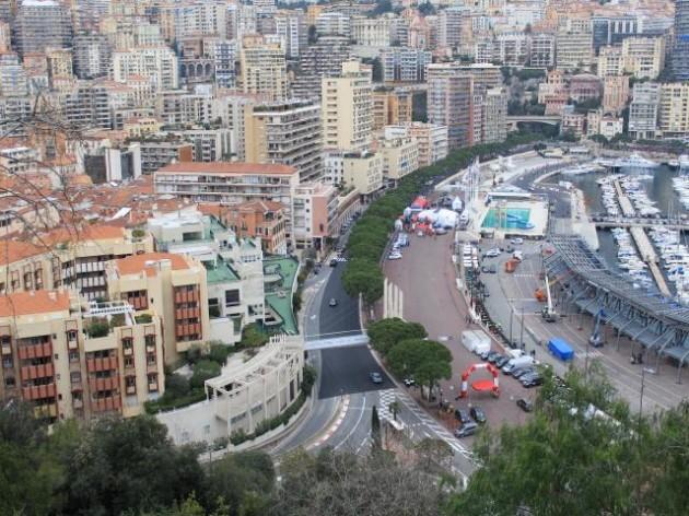 モナコグランプリのレース会場