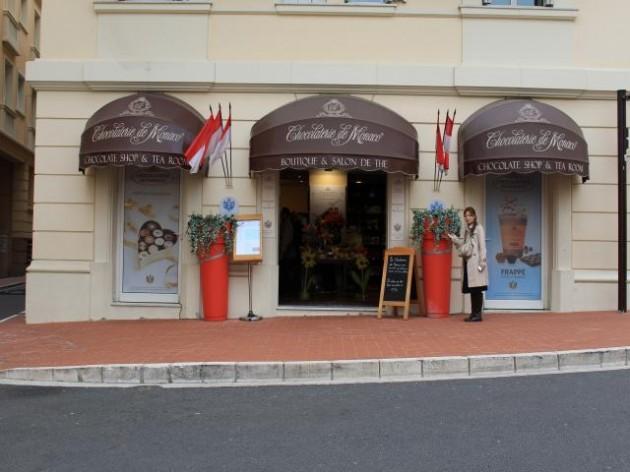 モナコ王室御用達のチョコレート屋さん