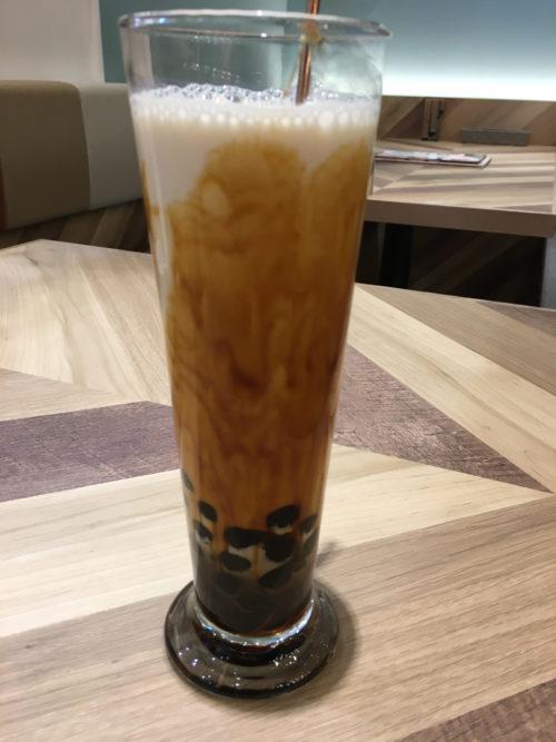 桃園茶寮の黒糖タイガーミルク