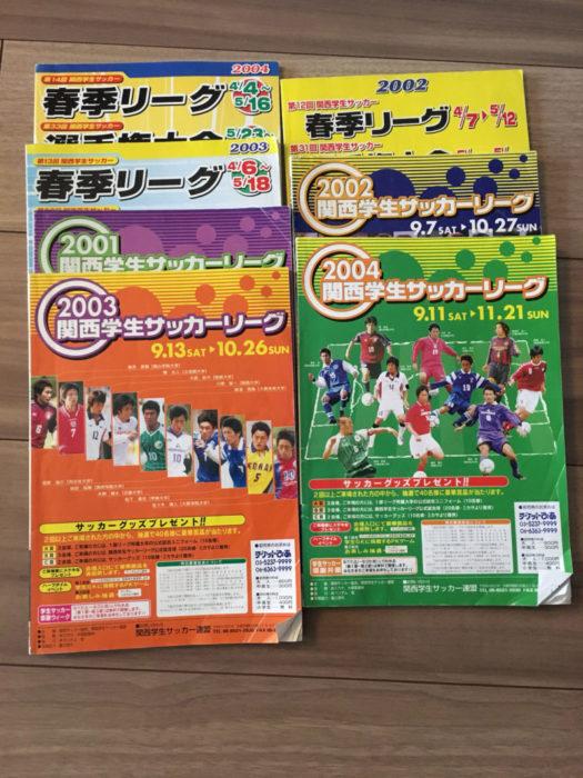 関西学生サッカー選手権大会公式プログラム
