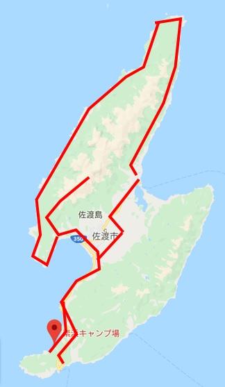 佐渡島ツーリング⑧