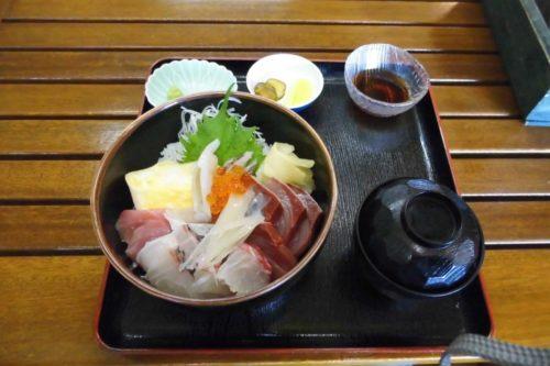 佐渡島ツーリング 大野亀 海鮮丼