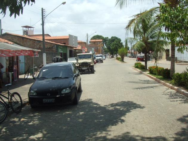 Barreirinhasの街並み