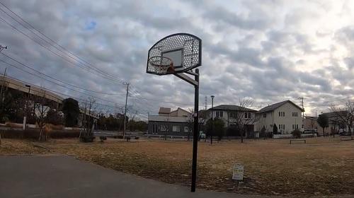 美園六丁目第二公園バスケットゴール